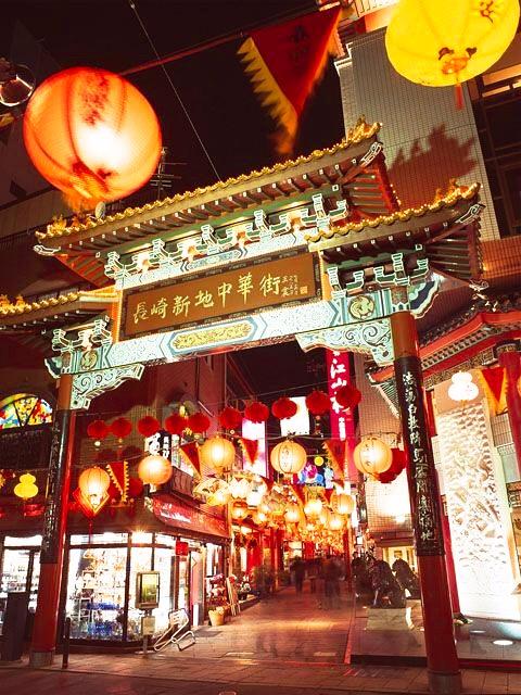 長崎新地中華街の門