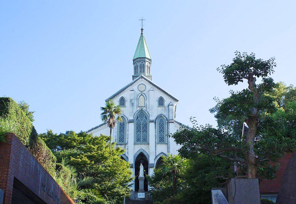 長崎の観光スポットの風景