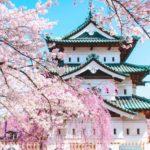 青森 弘前桜祭り2020 弘前城と桜