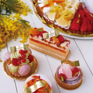 神戸三宮カフェTOOTHTOOTHのおしゃれなケーキ