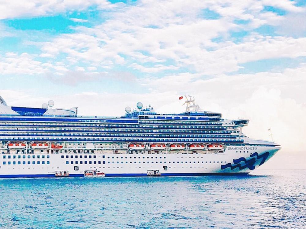 日本発着で人気の豪華客船ダイヤモンドプリンセス