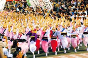 徳島の阿波踊り2019