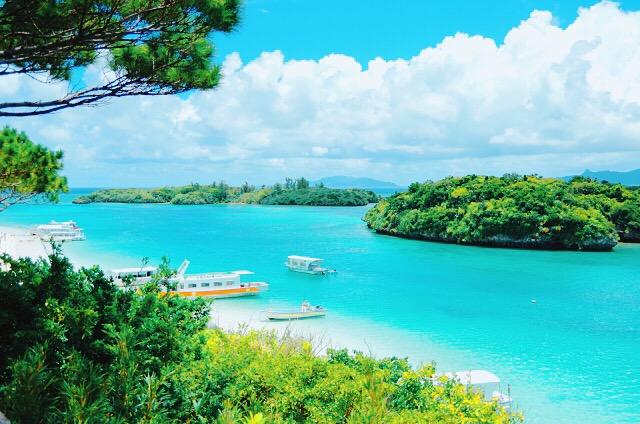 石垣島の人気観光スポット川平湾