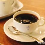 横浜馬車道十番館カフェのオリジナルコーヒー ドリップ式