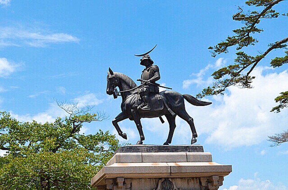 仙台 伊達政宗像