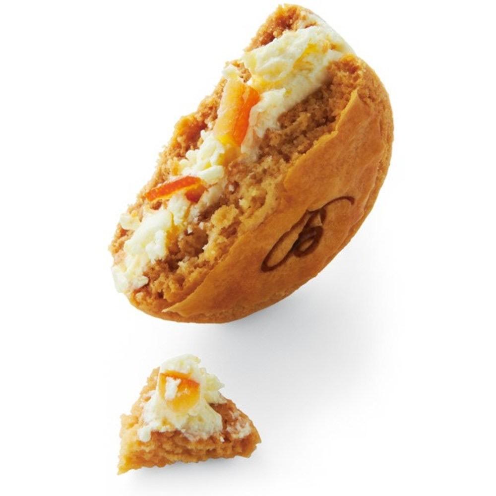 神戸にあるボンボンロケットのクリームサンディーズのオレンジ
