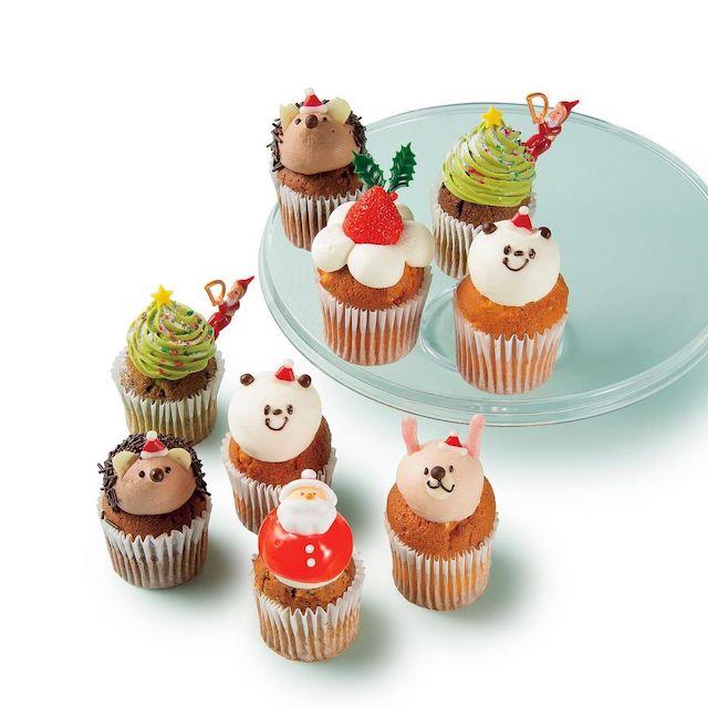 フェアリーケーキフェア クリスマス限定 フレッシュカップケーキ