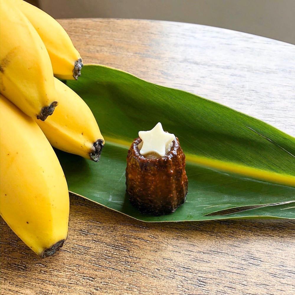 沖縄 黒糖カヌレ ほうき星の人気フレーバー バナナ×星