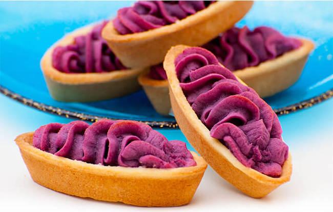 御菓子御殿の紅芋タルト
