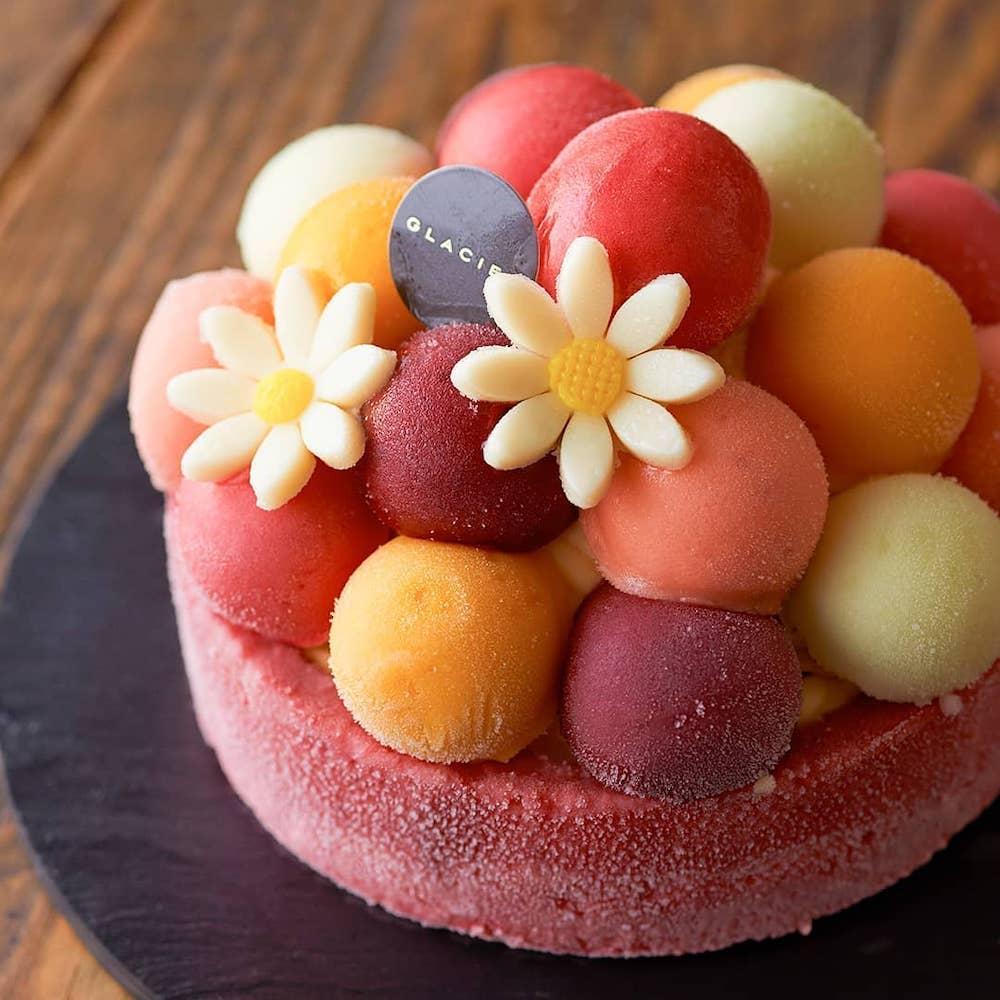 ルタオのアイスケーキ専門店 GLACIEL(グラッシェル)表参道のバルーンドフリュイ