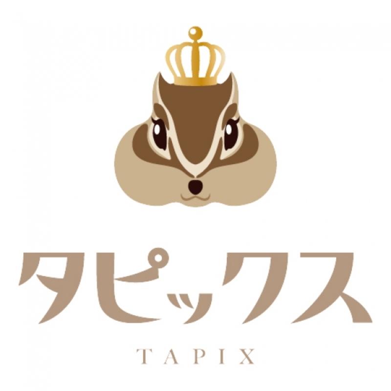京都の生タピオカ専門店タピックスのトレードマークのシマリス