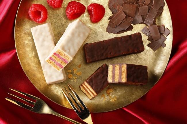 フランセ クリスマス 聖なるミルフィユ ラズベリー&チョコレート