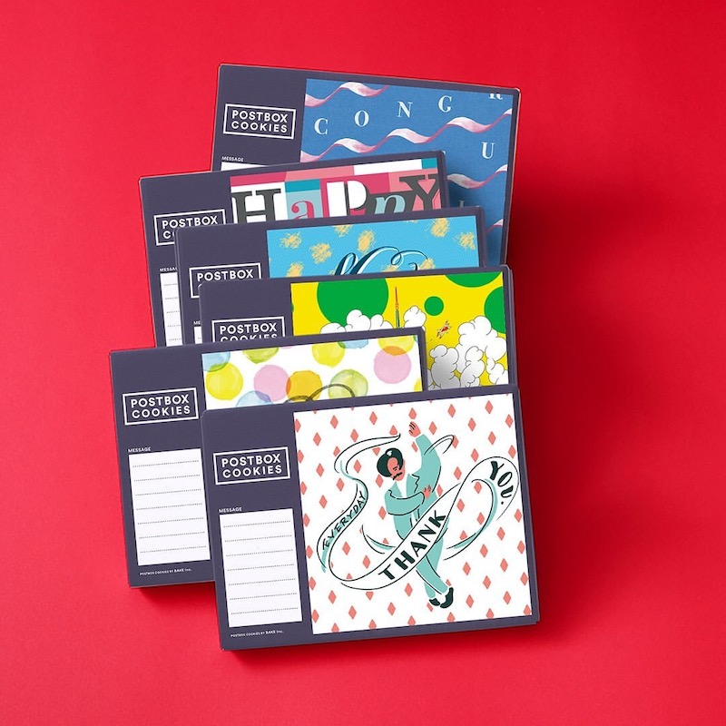 ポストに投函できるPOSTBOX COOKIES(ポストボックスクッキーズ) 東京ギフトパレット店のお菓子