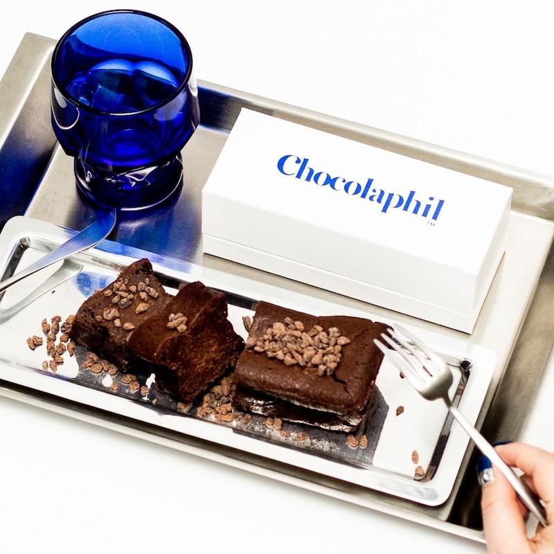 Chocolaphil(ショコラフィル)大丸心斎橋店のガトーショコラがリッチでおいしそう!