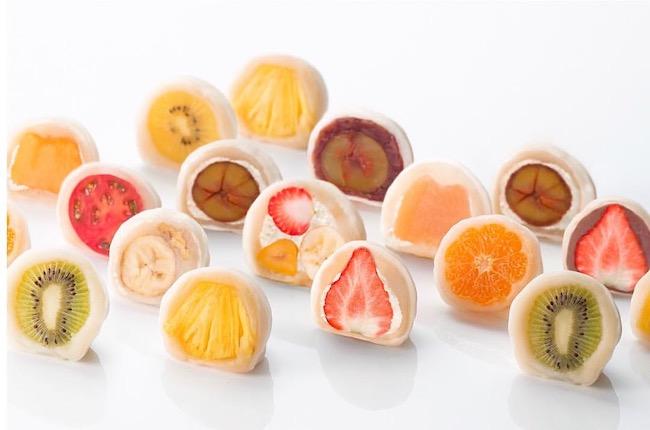 京都祇園仁々木 菓実の福のおしゃれでおいしいフルーツ大福