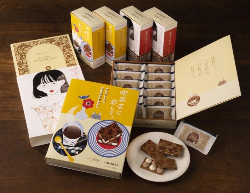 グランスタ東京にある喫茶店に恋してのおしゃれなティラミスショコラサンド