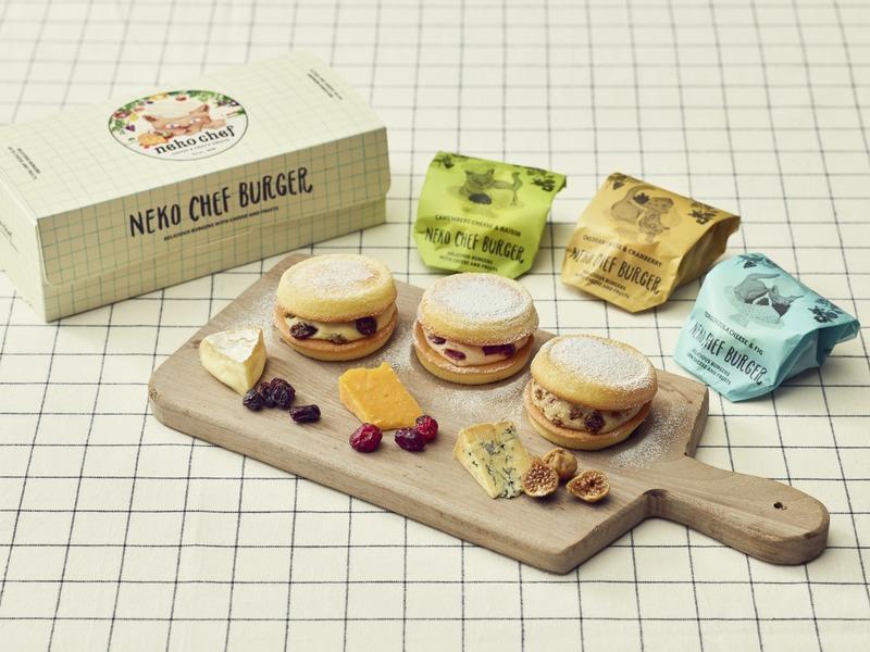 東京ギフトパレットのネコシェフで完売人気のネコシェフバーガーセット
