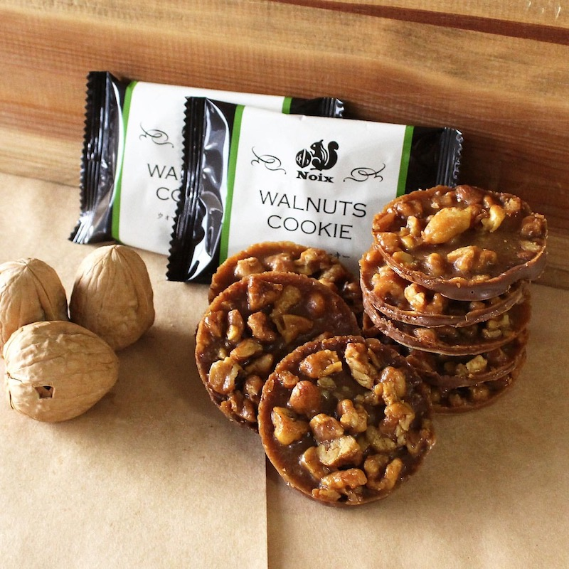 Noix(ノワ)ウォールナットクッキーが大丸東京店や大丸心斎橋店、お取り寄せ通販で人気!