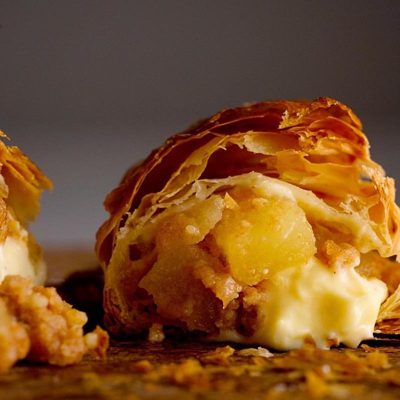 【RINGO(リンゴ)】焼きたてカスタードアップルパイが美味しすぎる♡