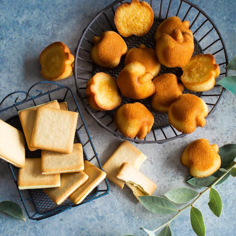 「りんごとバター。」りんごとバターのかわいい焼き菓子を東京土産に♡