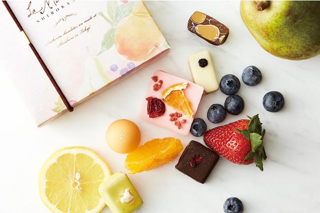 ラ・メゾン白金 バレンタイン2021 果実のトリュフとショコラ