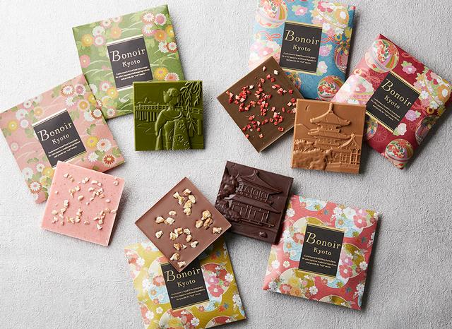 京都ボノワールのチョコレートの千代あつめ