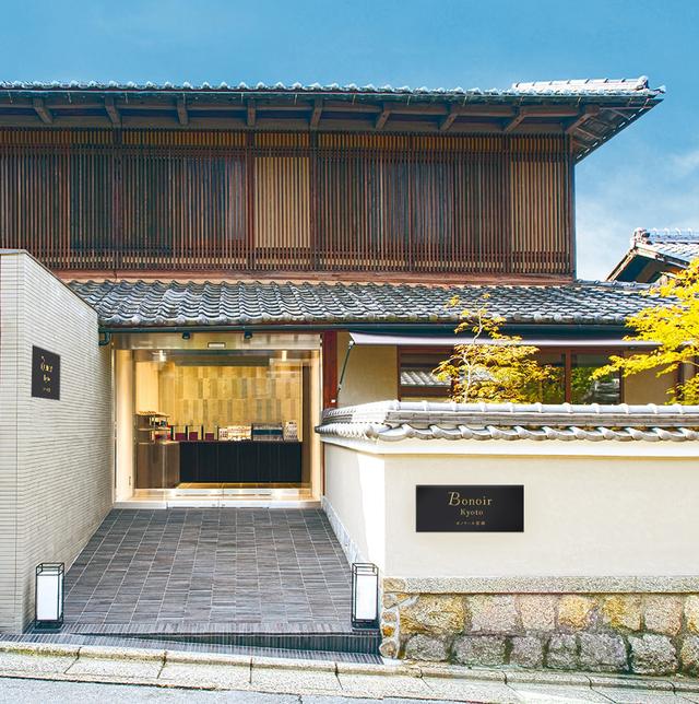 京都の銀閣寺参道にあるボノワールの外観