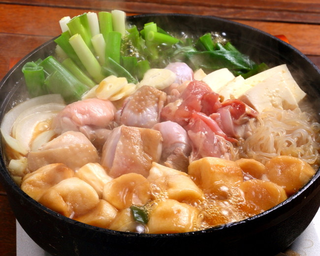八起庵 鶏のすき焼き