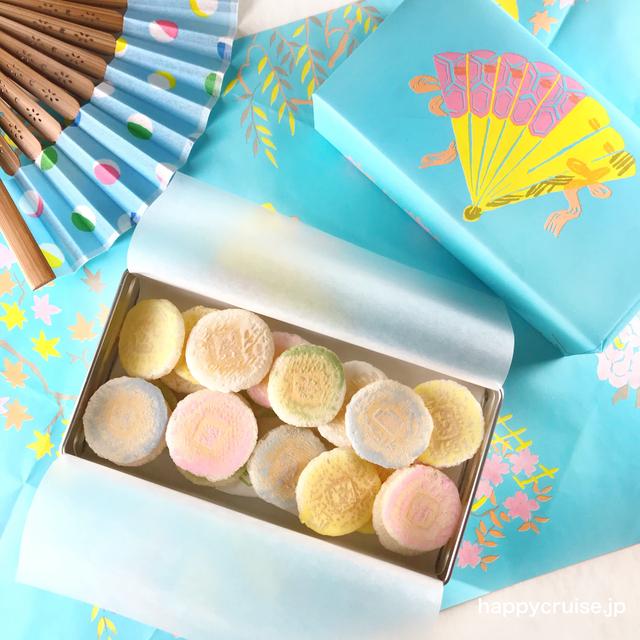京都にある末富の人気のお菓子の京ふうせん