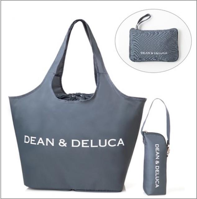 GLOW 2021年8月号 ディーン&デルーカ 付録 レジかご買物バッグ +ストラップ付き保冷ボトルケース