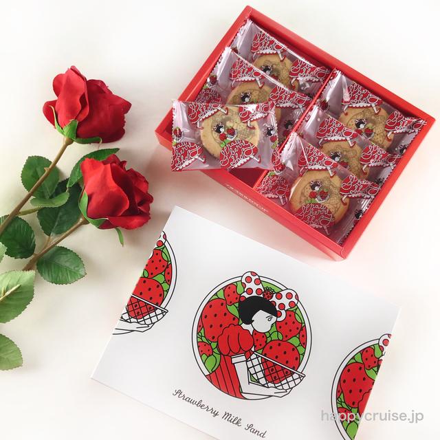 東京お土産【イチゴミルクサンド】イチゴショップbyフランセのかわいい苺スイーツ♡