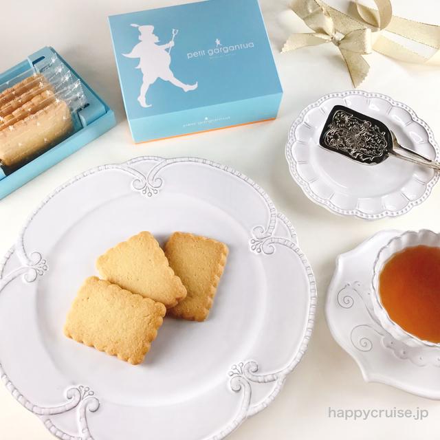 【塩バターサブレ レクタングル】グランスタ東京のプティガルガンチュワで帝国ホテルの味をお土産に♡
