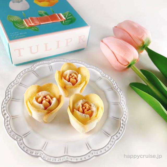 【チューリップローズチーズ】チューリップローズの新フレーバーを可愛い手土産に♡