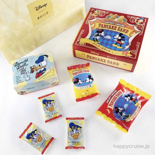 東京【東京ばな奈 ディズニー ショコサンド】東京駅で人気のお菓子のお土産