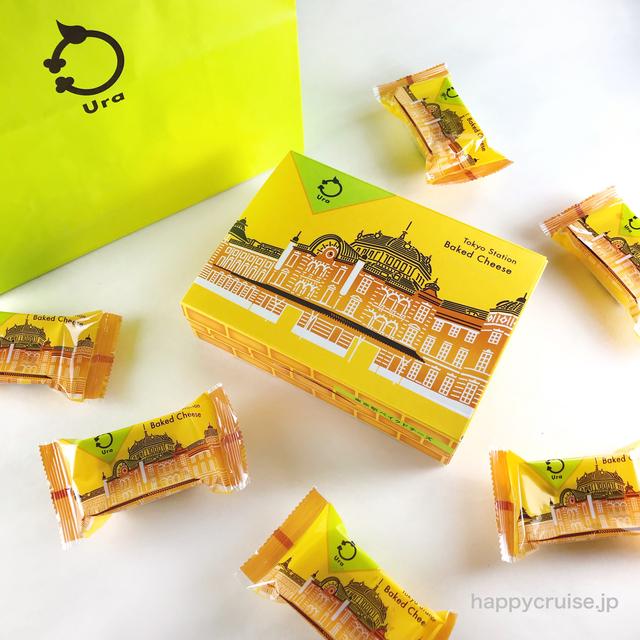 東京駅限定【東京駅ベイクドチーズ】Ura(ウーラ)のおしゃれ美味しいチーズケーキを手土産に